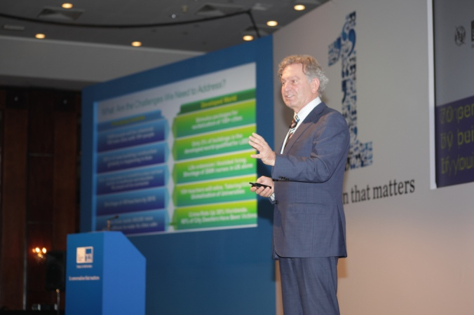 Cisco Chief Globalisation Officer Wim Elfrink's Keynote - at The Role of Technology in Enabling Sustainable Growth