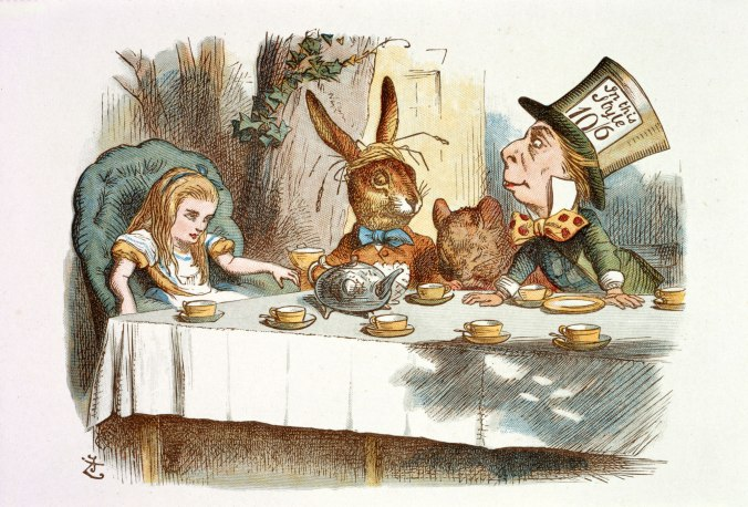 John Tenniel, Illustration from The Nursery Alice (1890)